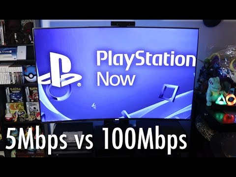 Playstation Now Review 5mbps Vs 100mbps Streaming