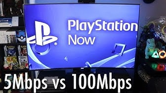 PlayStation Now Review: 5Mbps vs. 100Mbps - Streaming Games Still Needs a LOT of Work.
