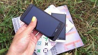 видео обзор оригинальных и неповторимых HTC One 802w Dual Sim & HTC One 802d Dual Sim в Украине!!!