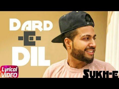 Dard E Dil I Lyrical remix song | Musahib Ft Sukhe Muzical Doctorz | Latest Punjabi Song 2018