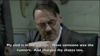 Hitler Makes Snow Day Plans