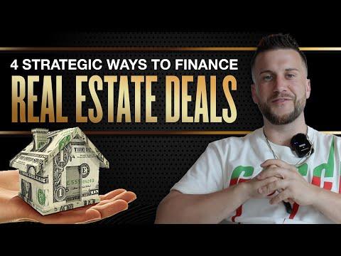 4 Strategic Ways to 100% Finance Real Estate Deals