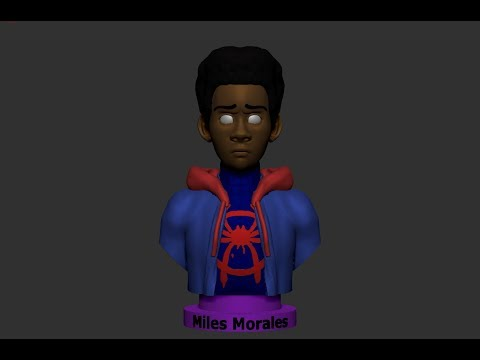 sculpting-spider-man-miles-morales-/-plans-for-2019
