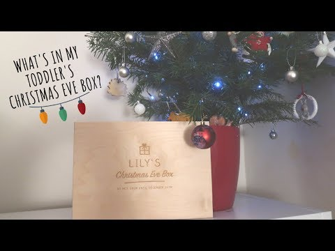 WHAT'S IN MY TODDLER'S CHRISTMAS EVE BOX? *2018*
