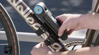 How is it made? The Foldylock Compact folding bicycle lock by Seatylock