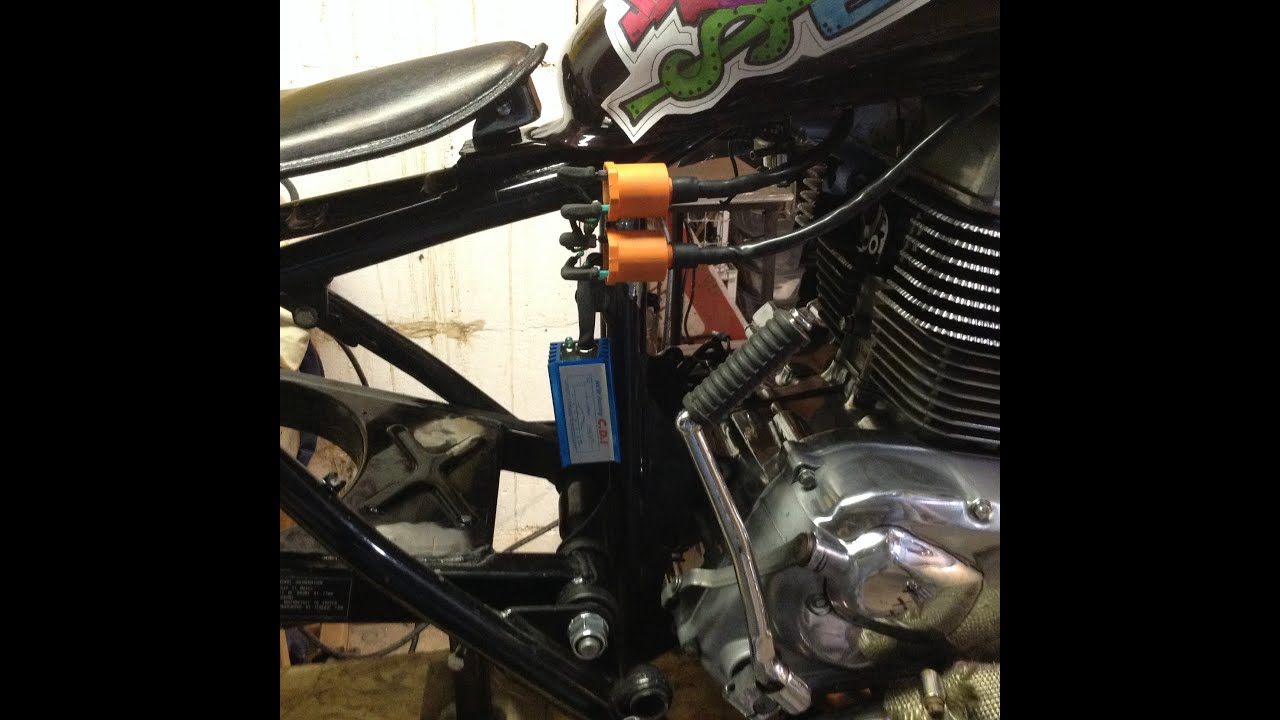 hight resolution of honda rebel bobber build race cdi and coils