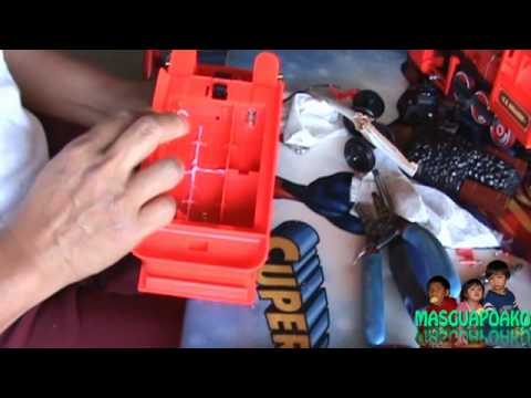 Modifying Toy Train Battery Compartment