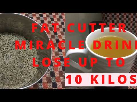 How To Lose Weight Fast At Home- 10 KG | Fat Burning Cumin/Jeera water weight loss