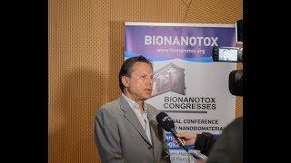 Συνέντευξη του Καθηγητή Αριστείδη Τσατσάκη για τις εργασίες του συνεδρίου BIONANOTOX 2019