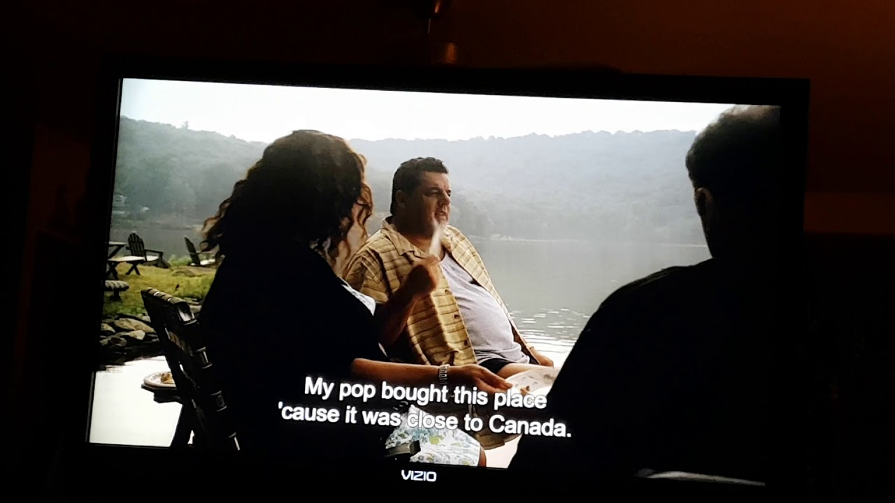 "The Sopranos ""They oughta build a wall now though"""
