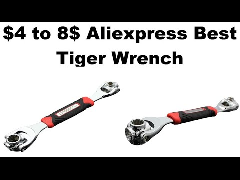 $4 To 8$ Aliexpress Best Tiger Wrench