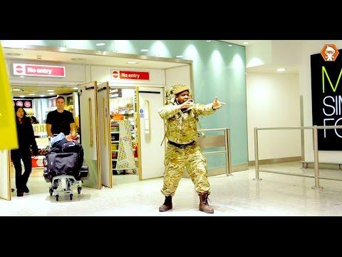British Soldier Returning Home