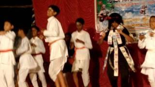 Prajwal Srivatsa in Kurudu Kanchana dance