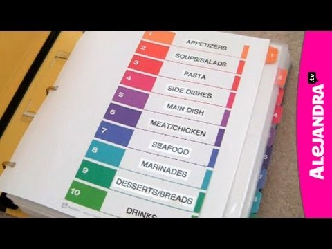 Recipe Organizer: How To Organize Recipes In A Binder