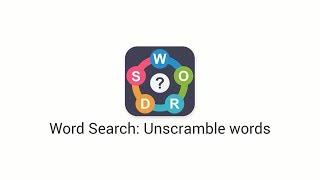 Word Search: Unscramble words screenshot 2