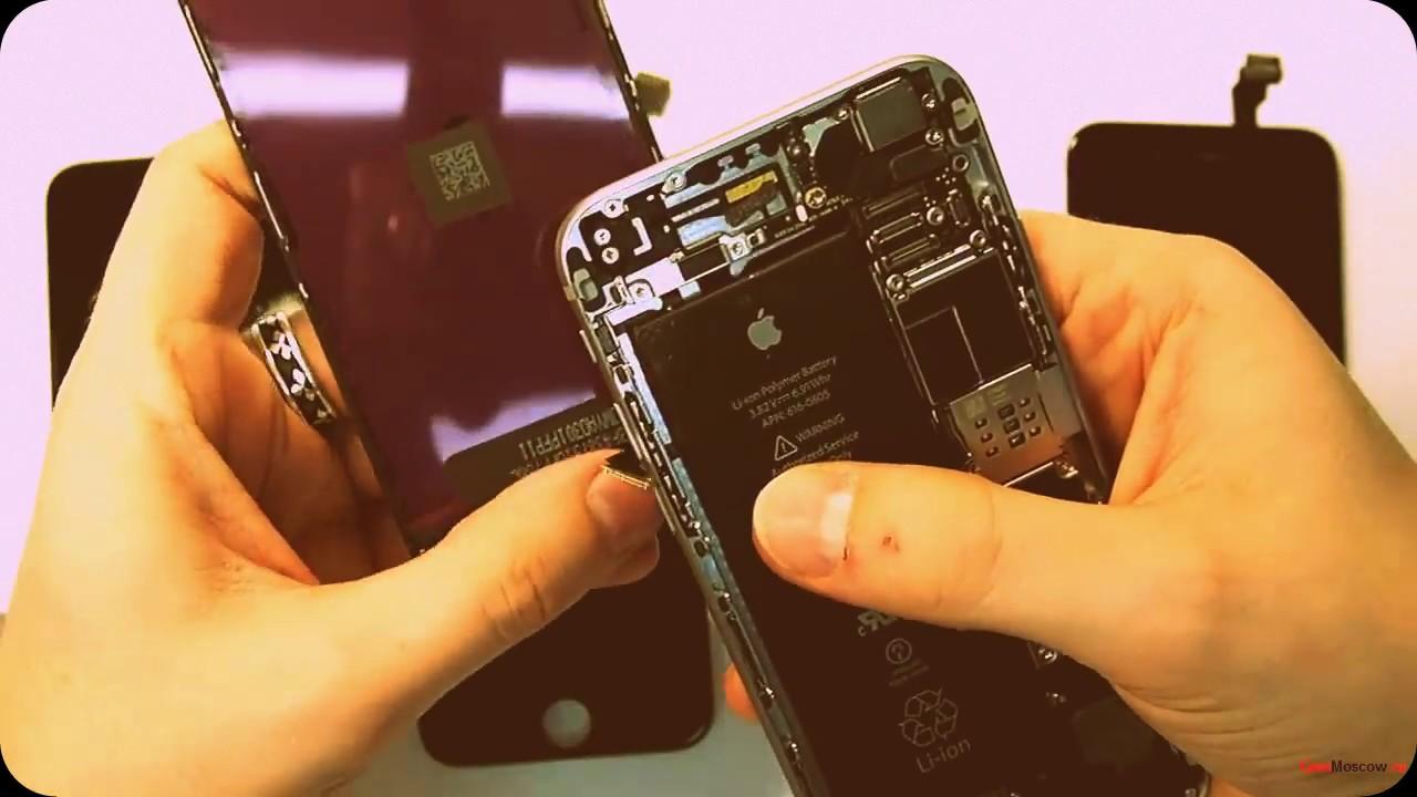 Как отличить экран оригинал от копии на iphone 7.7plus. 6s. и так .