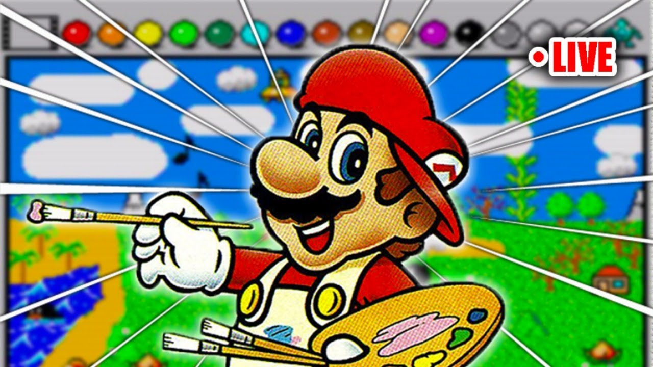 Mario Paint BUT Its Yee Yee Viewer Submissions