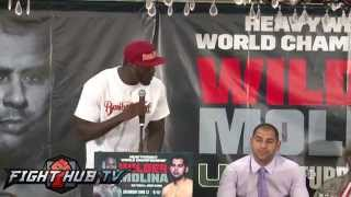 Deontay Wilder Vs. Eric Molina Full Video-final Press Conference Highlights