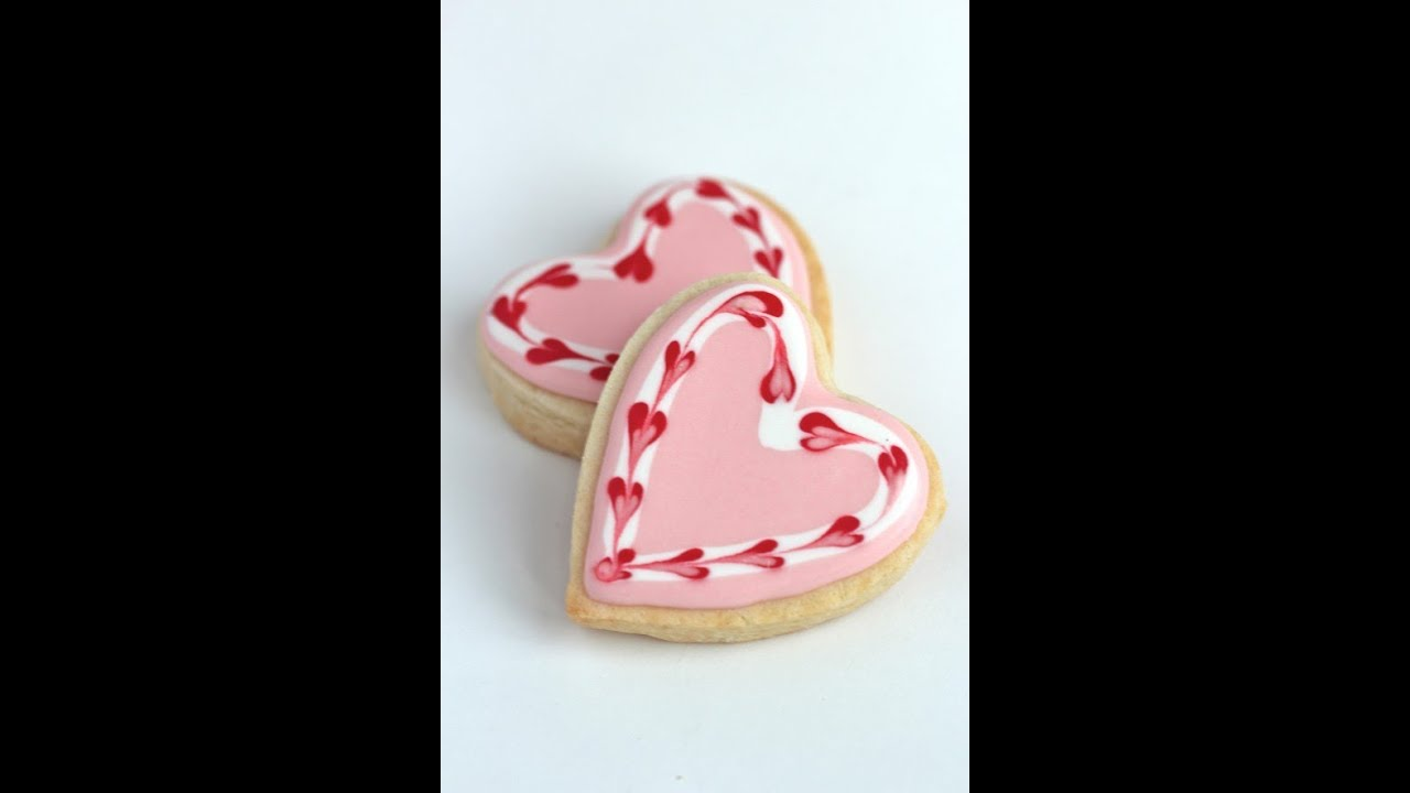 how to make simple valentine cookies
