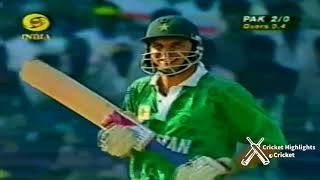 Pakistan vs India - Saeed Anwar's 194 runs in Independence Cup Match at Chennai 1997