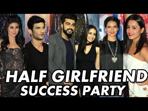 Half Girlfriend SUCCESS PARTY | Arjun Kapoor, Shraddha, Ekta, Mohit Suri, Karan