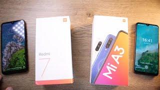 Xiaomi Redmi 7 vs Xiaomi Mi A3 / ОБЗОР + СРАВНЕНИЕ ► ЛУЧШЕЕ соотношение цены в 2020!