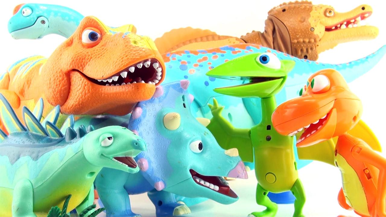 7 Dinosaur Train dinosaurs - Spinosaurus Tyrannosaurus ...