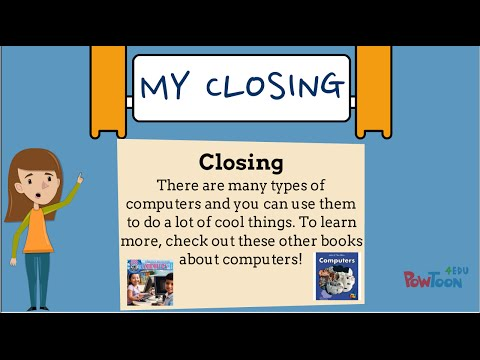 Informational Writing For Kids- Episode 6: Writing A Closing