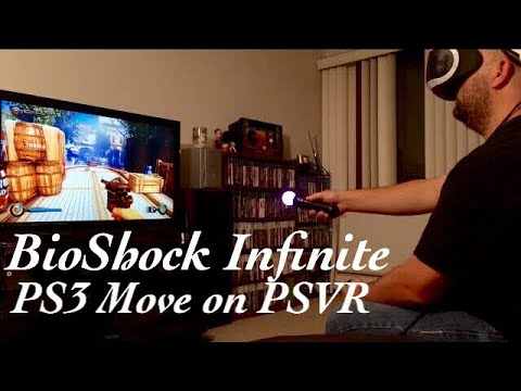 First Play: BioShock Infinite (PS3 Move on PSVR) *With Gameplay Commentary*