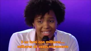 Jayna Brown Golden Buzzer cantando Rise Up   Andra Day