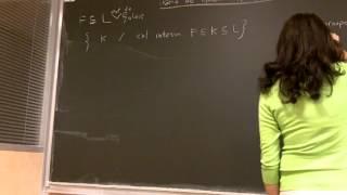 Théorie de Galois topologique, par Olivia Caramello (15 janvier 2013)
