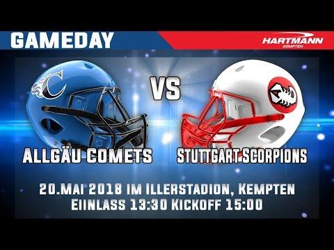 Allgäu Comets vs. Stuttgart Scorpions