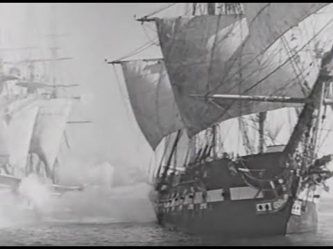 "Battle scene from ""Old Ironsides"" (1926)"