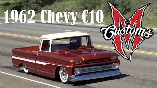 1962 Chevrolet C10 Martin Brothers Iron Resurrection built classic Texas truck