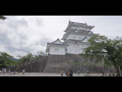 【4K】Videowalk at Odawara castle
