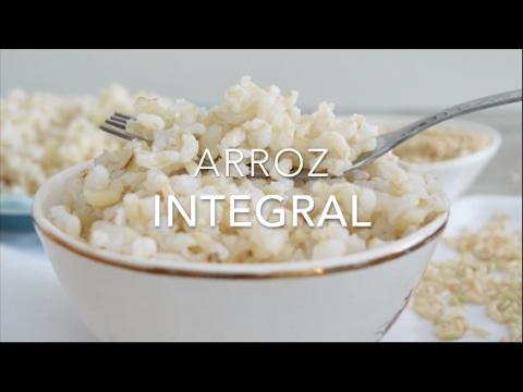Como hacer el arroz integral para que no quede duro