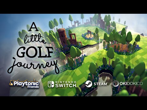 Playtonic Friends Presents: A Little Golf Journey coming out in October!