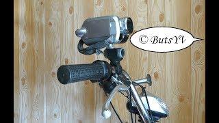Видеокамера на велосипеде (мотоцикле) за $ 1. Attaching of video camera  on a bike for $ 1(В этом видео показано, как своими руками из подручных средств изготовить универсальное, простое, надежное..., 2017-02-03T11:40:49.000Z)