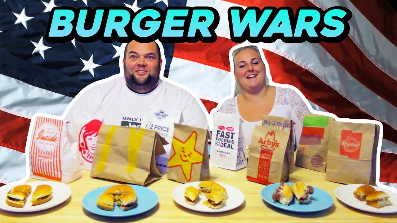 burger wars test americk ch hamburger youtube. Black Bedroom Furniture Sets. Home Design Ideas