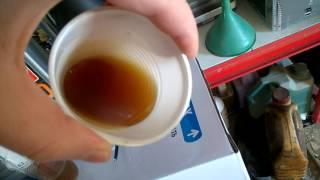 Тест масла Liqui Moly в морозы