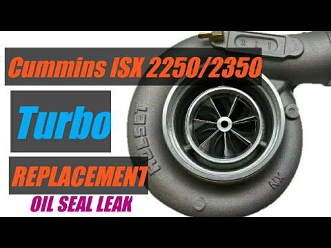 Repeat Cummins isx 2250/2350 valve stem seals replacement