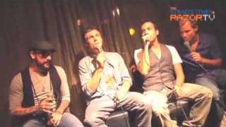 Backstreet Boys: Backstreet Boys sing for fans - RAZORTV (Pt 5)