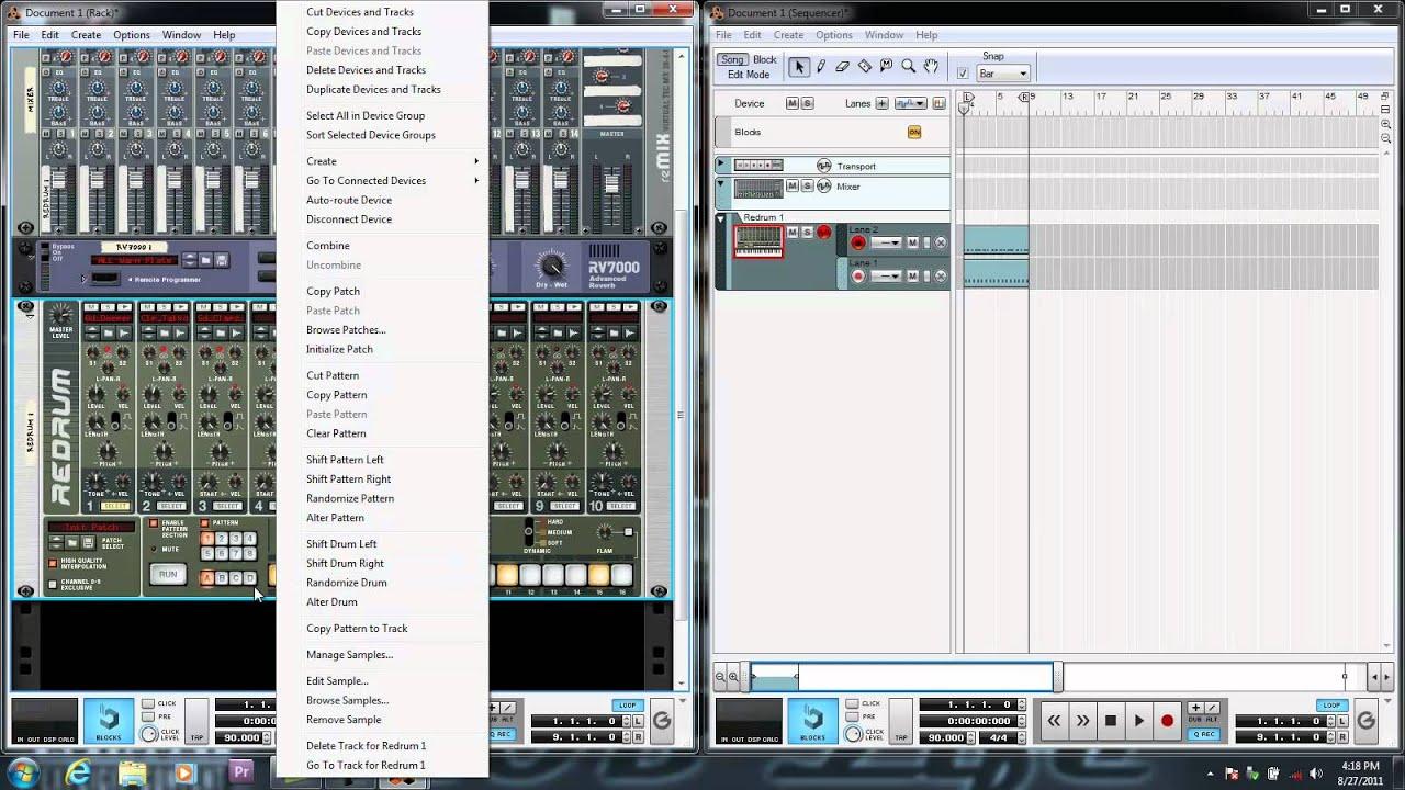 Propellerhead reason 6 tutorials | hip hop chord progressions.