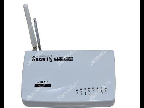 GSM сигнализация Alfa СТРАЖ G10A - YouTube