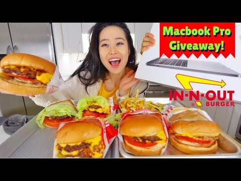 Macbook Pro Giveaway! MUKBANG | Eating Show