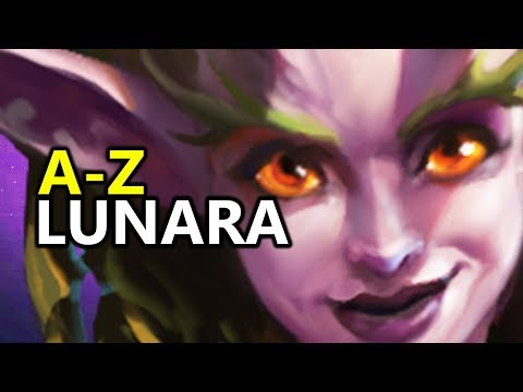 ♥ A - Z Lunara - Heroes of the Storm (HotS Gameplay)