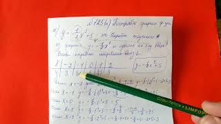 125 (а) Алгебра 9 класс. Графики функций, свойства функций