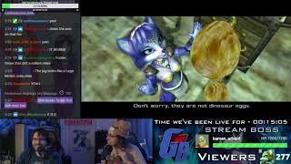 The Single-Stream Playthrough of Star Fox Adventures! Feat. KZXcellent! [1/2]