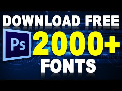 Hindi, Arabic, English 2000+ Fonts For Free Download