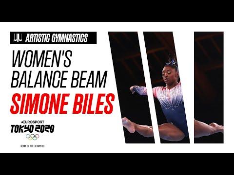 SIMONE BILES | Women's Balance Beam - Highlights | Olympic Games - Tokyo 2020